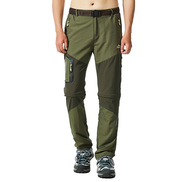 Men Hiking Pants Outdoor Fishing Trousers Sretch Waterproof Windproof Camping Jogger Quick Dry Climing Trekking Legging