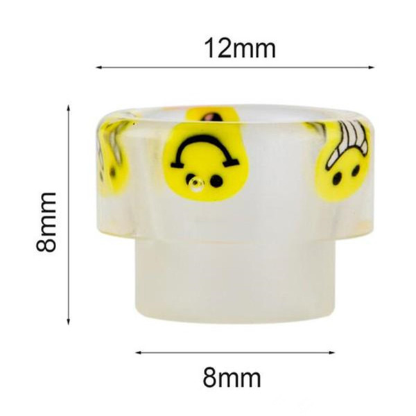 ecigarette vape 528 cartoon resin driptip wide bore 528 rda mouthpiece cheap price 528 drip tip smoking accessories