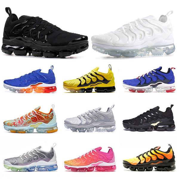 Nike Air Max VAPORMAX TN Plus VM OFF WHITE Scarpe da corsa da uomo Hyper Blue TN Plus da donna, argento sfumato bianco USA Zebra, scarpe da ginnastica classiche da uomo casual runner