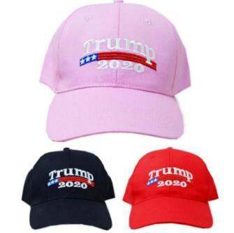best selling Trump 2020 Caps Donald Trump Cap GOP Republican Adjust Baseball Cap Trump For President Outdoor Snapbacks CCA10841 200pcs