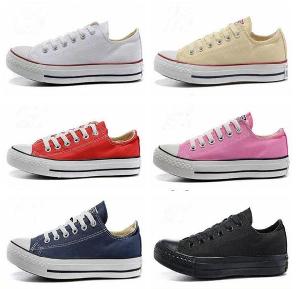 Tay Lor diseñador de zapatos casuales de lona para mujer para hombre High Top Classic Star All Skate zapatos casuales eur 36-46