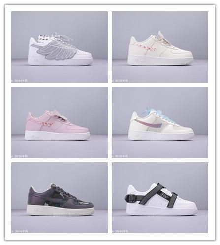 2019 pas cher Vente Gelée Fraise Coloré Papillon Printemps Neon Chaussures De Course pour Femmes Mens Fur 1 Top qualité Sports Sneakers Taille 36-44