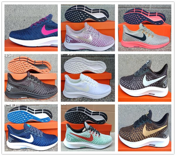 on sale ba8dc 1dd4e 2019 Zoom 2019 NEW Nike Air Zoom Pegasus Turbo 35 Running Shoes For Man  Women Outdoor Zoom 35X Run Sports Sneakers Shoe Size 36 45 From Usa2000, ...