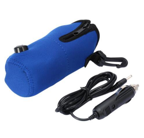 Car Baby Bottle Warmer Heater Cover 12V DC Portable Food Milk water Travel Cup Covers Safty Bottle Heaters GGA1779