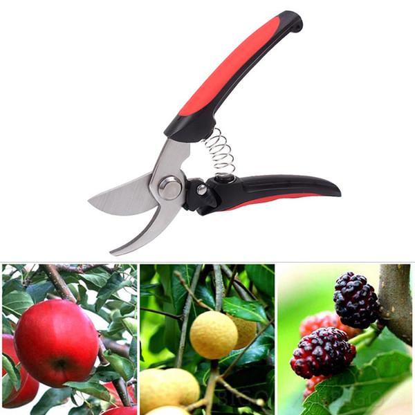 Garden Scissors Grafting Tool High Strength Stainless Steel Fruit Tree Pruning Shears Garden Plant Secateurs Easy Pruning Tools