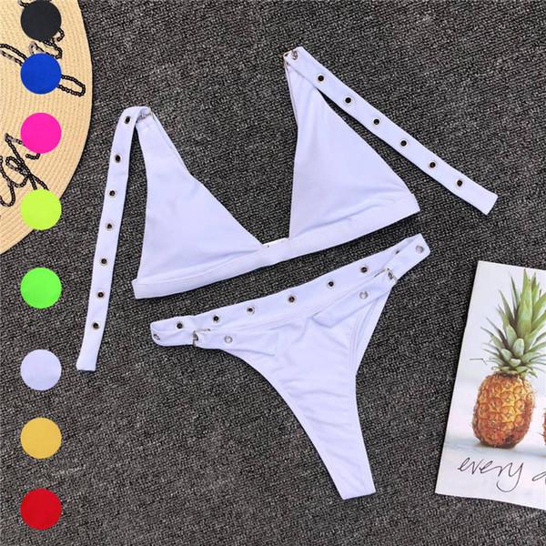 Сексуальные женские бикини набор купальники бюстгальтер купальник пляжная одежда купальник lingeries женщина Женщины s бикини купальники 2019