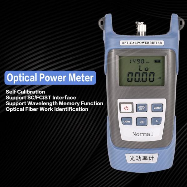Fiber Optical Cable Tester Networks Handheld FTTH Fiber Optic Optical Light Power Meter FC/SC connectors -70~+20dBm