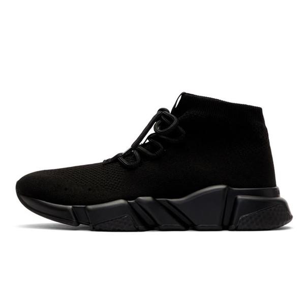 2020 chaussures chaussette Styliste entraîneur vitesse casual chaussette chaussure Triple Noir Blanc Rouge plat Runner Femmes Hommes Chaussures 36-45 c21