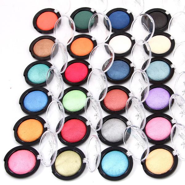 Maquillage Faire cuire 24 fard à paupières couleur Shimmer poudre minérale simple fard à paupières 5.5g