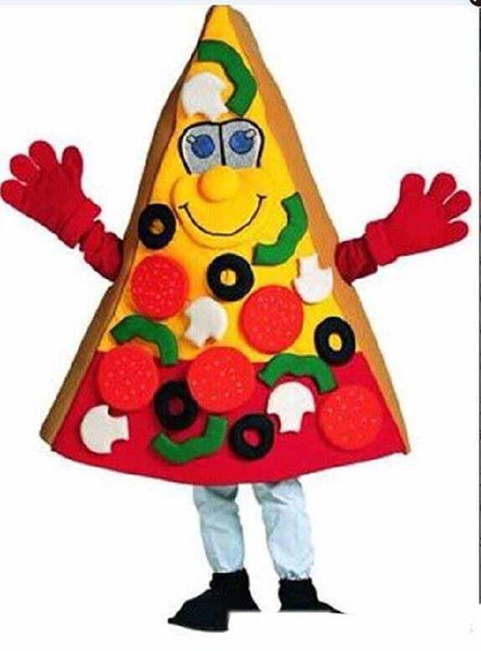 2019 High quality pizza mascot costume Christmas Carnival performance clothing adult size free shipping