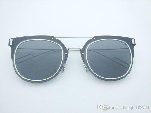 frame silver lentille de gris