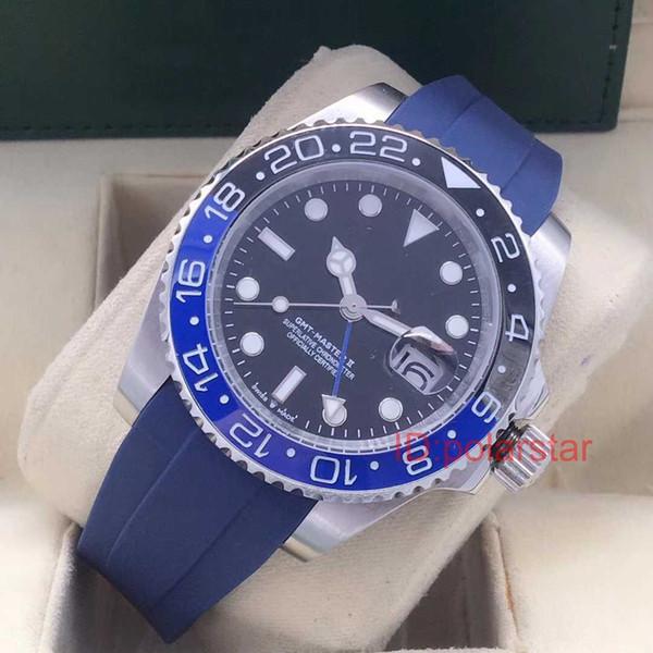 Heißer verkauf luxus herrenuhren keramik lünette sport armbanduhr ii automatische mechanische uhr reloj montre de luxe armbanduhren