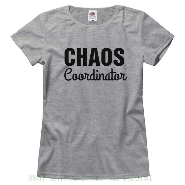 fa74ed0c97697 Women'S Tee This Mom Is A Chaos Coordinator : Ladies Relaxed T Shirt Summer  Funny Cotton Hipster Tees Fashion Harajuku Brand Tee Shirt Design Printed  ...