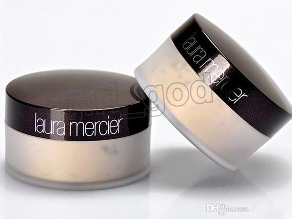 2019 NUEVA Fundación Laura Mercier Polvos sueltos Maquillaje Fijación Polvo de maquillaje Min Pore Brighten Corrector 3 colores