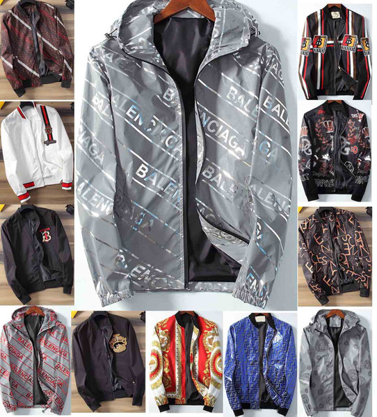 Männer Frauen Design-Jacke Luxus SweatshirtHoodie Langarm Herbst Sport Zipper Marke Windjacke Männerkleidung Hoodie 35