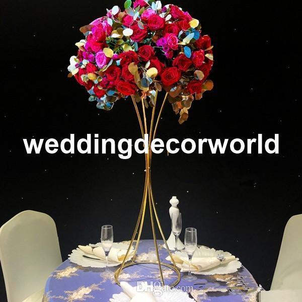 Großhandel Hochzeit Bogen Blume Hochzeit Bühne Hintergrund Stehen Dekoration Frames Künstliche Blumenschmuck Dekoration Bogen Für Hochzeit Tisch