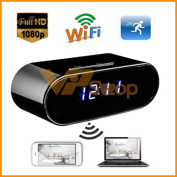 Z10 Wifi Mini caméra de contrôle Concealed IR nuit Version Alarme Horloge numérique caméra vidéo DV DVR caméscope bébé Nanny Cam moniteur