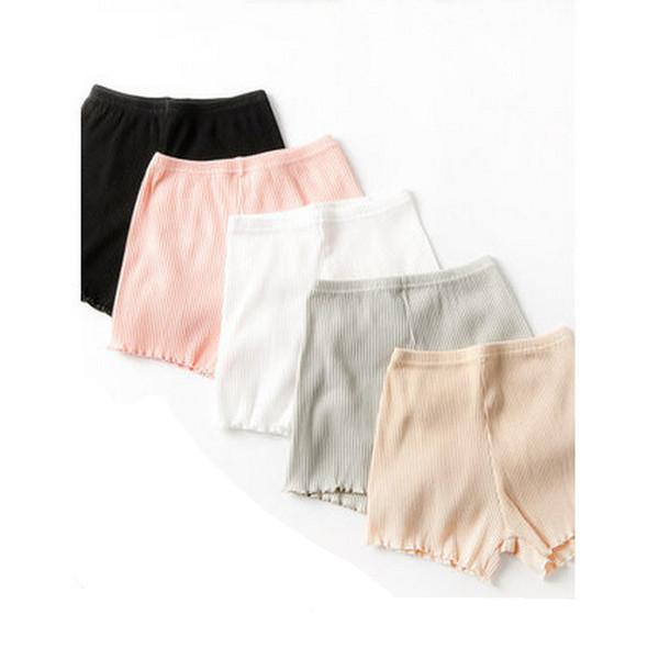 Sous-vêtements culottes malles boxer culottes pantalons de sécurité femmes coton d'été mince grande taille graisse intérieur extérieur porter lâche
