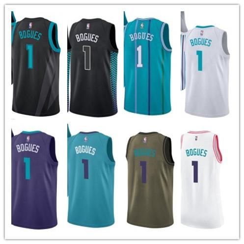 promo code 7789a af1ab 2019 Custom Best 2018 Basketball Wear Men'S Charlotte Hornet#1 Muggsy  Bogues Swingman Yellow Jersey City Edition Basketball Jerseys From  Gjybest003, ...