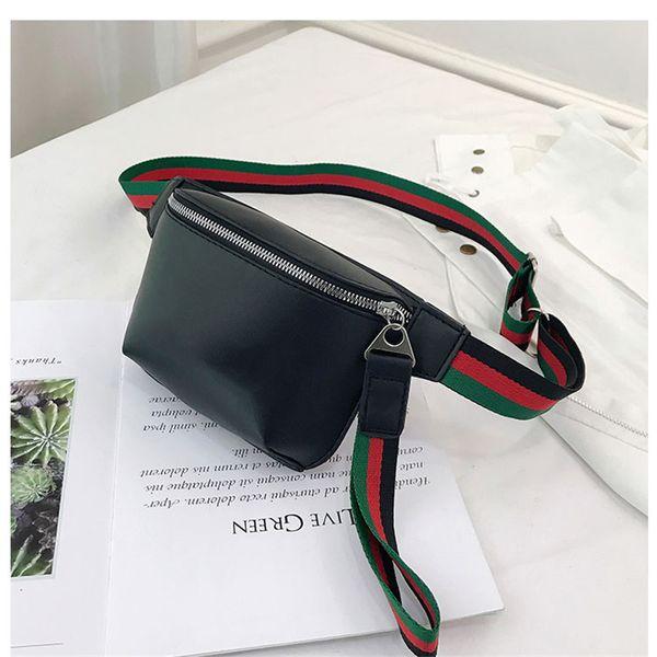 Nuevo diseñador de la marca Bolsos de cintura unisex Bolsos de cuero de lujo de la PU Bolsos de hombro para hombres y mujeres Bolsos de riñonera de alta calidad B100309K