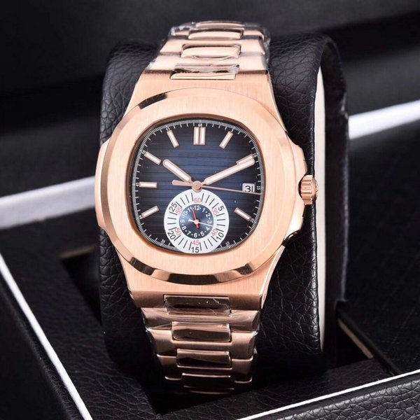 2019 hot Automatic machinery 39mm luxury watch men Small dial work sweeping movement good watch Watch model No battery watches 117