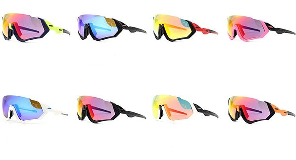 2019 Newest Cycling Sunglasses Racing Sport Cycling Glasses Mountain Bike Goggles Interchangeable Lens Outdoor Polarized Cycling Eyewear