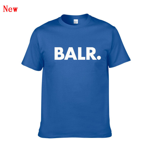 BALR Mektup Baskı T Shirt Yaz Kadın Erkek Yeni Varış Kısa Kollu Harajuku Tshirt Moda Rahat Streetwear T-Shirt ZG9