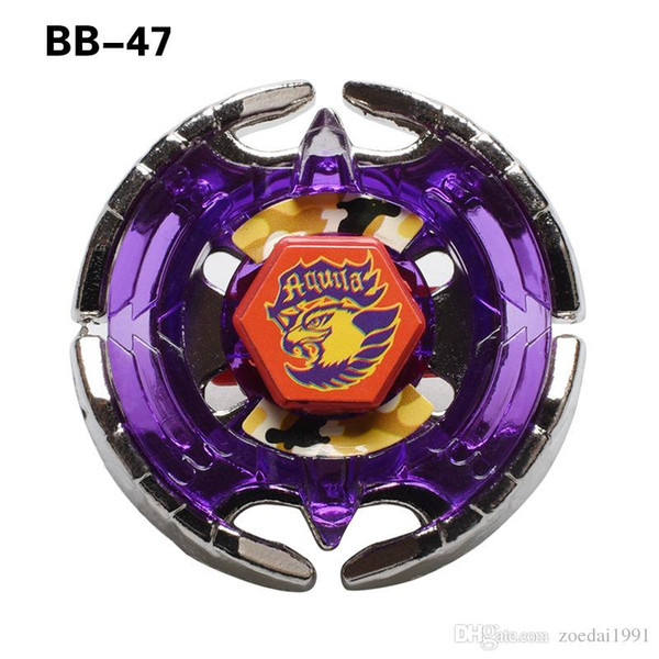 BB47 METAL FUSION 4D Beyblades sin Launcher fighting Spinning Top Toys gyro con caja original 24PCS / LOT