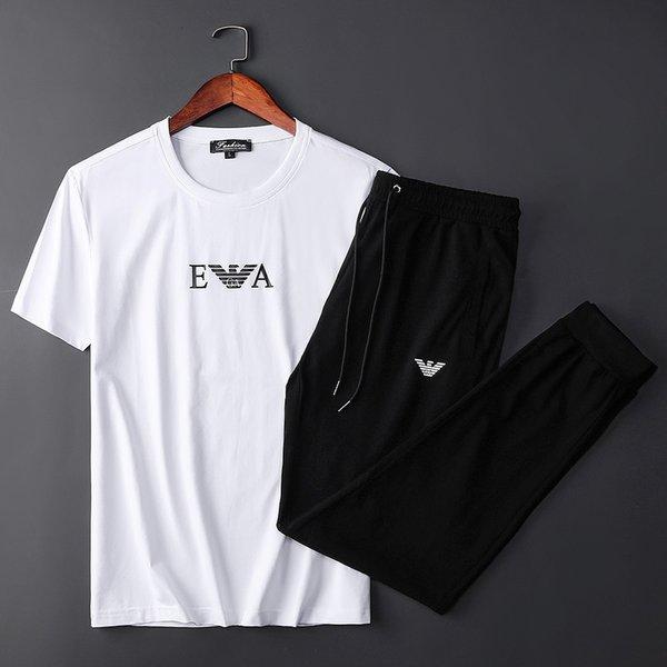 Европейская и американская мужская спортивная мужская одежда из мерсеризованного хлопка с короткими рукавами тонкий срез мужская повседневная спортивная одежда
