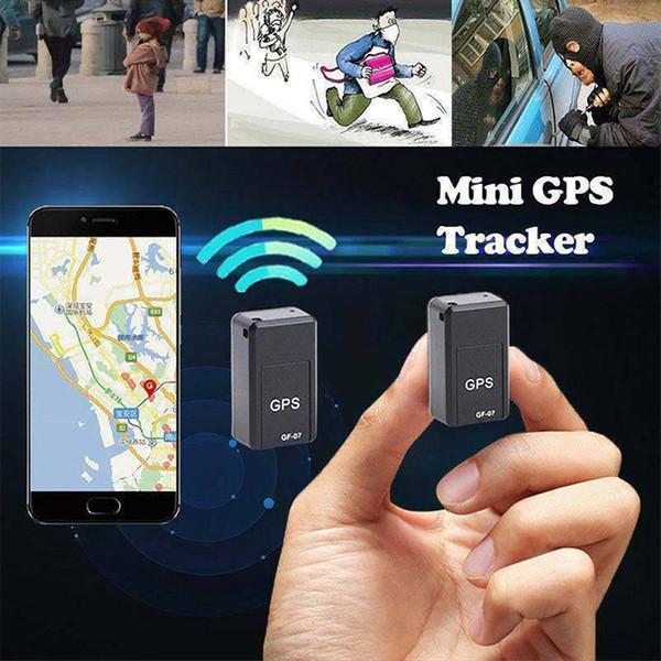 Mini GF-07 GPS Car Tracker Anti-Perdida Fuerte Magnético Inteligente en Tiempo Real GSM GPRS Dispositivo de Seguimiento Para Coche / Persona Sistema de Localizador GPS