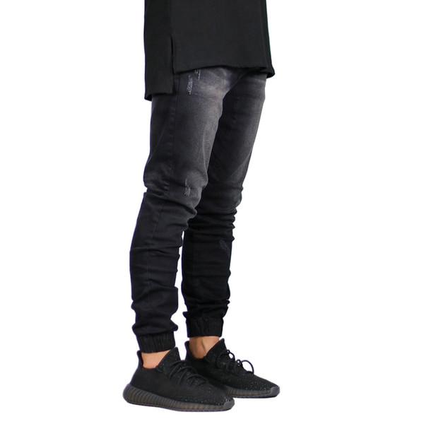 Fashion Mens Jeans Brand Stretch Men Jeans Denim Streetwear Jogger Design Hip Hop Joggers Skinny Men Clothes