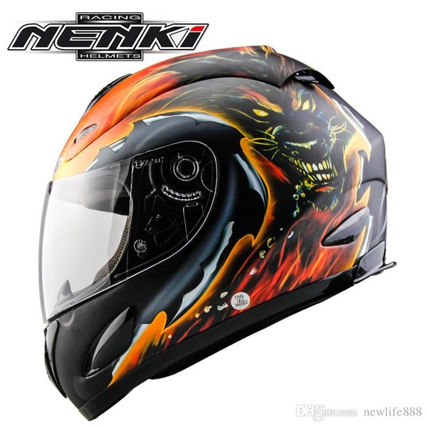 Free Shipping NENKI Motorcycle Helmet Full Face Motorcycle Adult Motocross Off Road Helmet ATV Dirt bike Downhill racing helmet 802