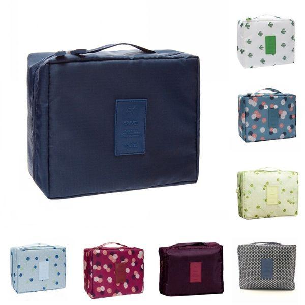 Frauen Gitter Oxford Kosmetiktasche Reise Make-Up Taschen Schöne Originalität Handtasche Hohe Qualität Mit Verschiedenen Mustern 7 6ks J1