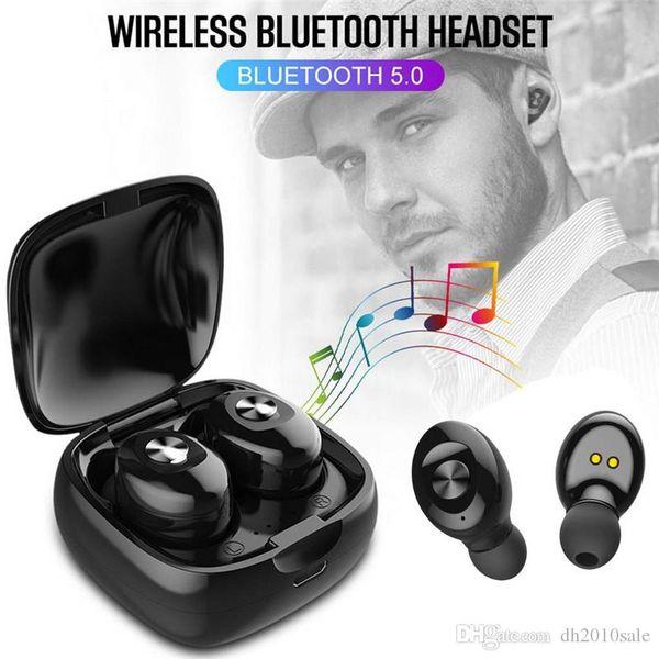 TWS casque sans fil Bluetooth écouteurs écouteurs 5.0 ture stéréo pour IOS Android Phone avec casque sans fil Bluetooth avec le pack