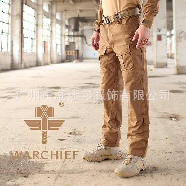 Lupo Brown Tactical Pants