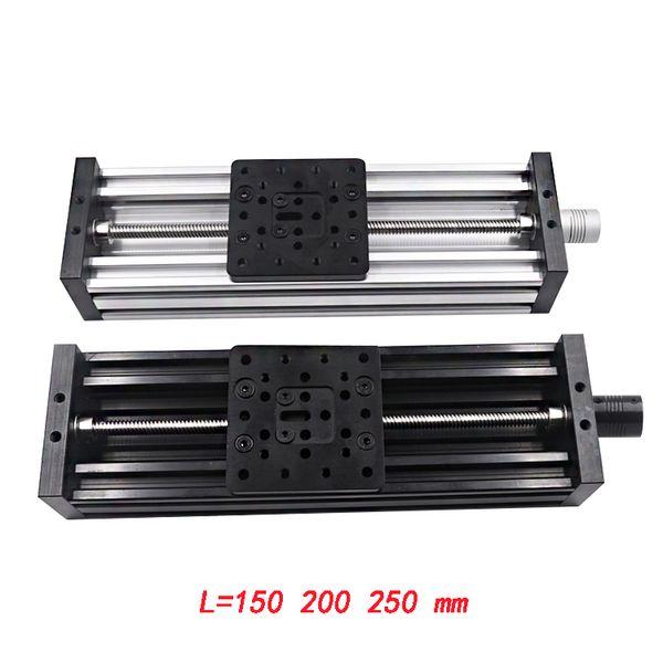 3d printer Z-axis lead screw T8 Z axis diy c-beam CNC sliding table 150mm 200mm 250mm linear actuator bundle kit