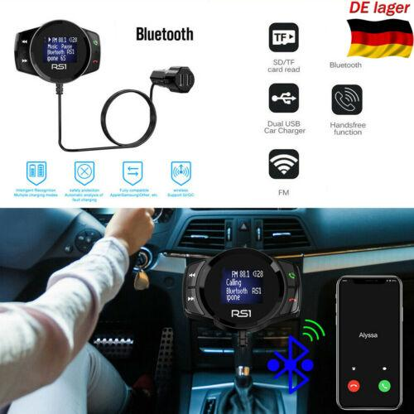 Car Kit Bluetooth Wireless USB a cristalli liquidi di deviazione standard FM Transmitter MP3 Player Magnet vivavoce