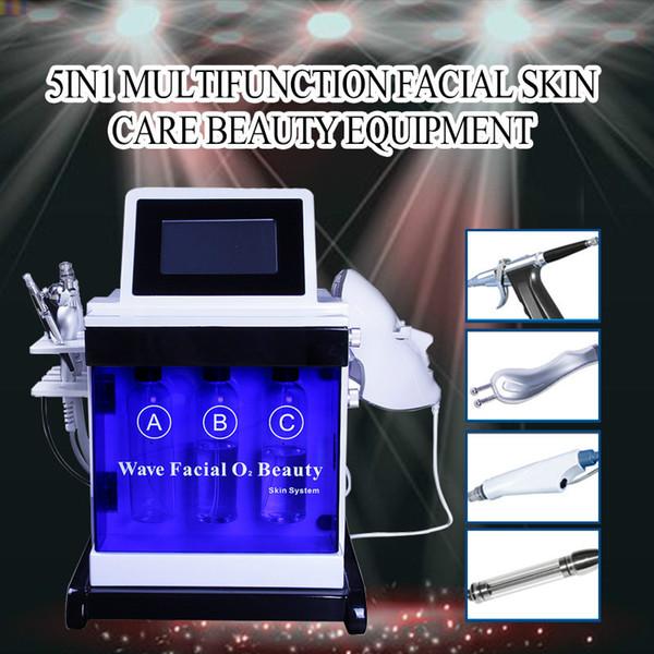 2019 Hydra Facial Máquina de Dermoabrasão Diamante Microdermoabrasão Descascamento de Oxigênio Cuidados BIO Face Lift Máquina de Limpeza Profunda Ultrasonic