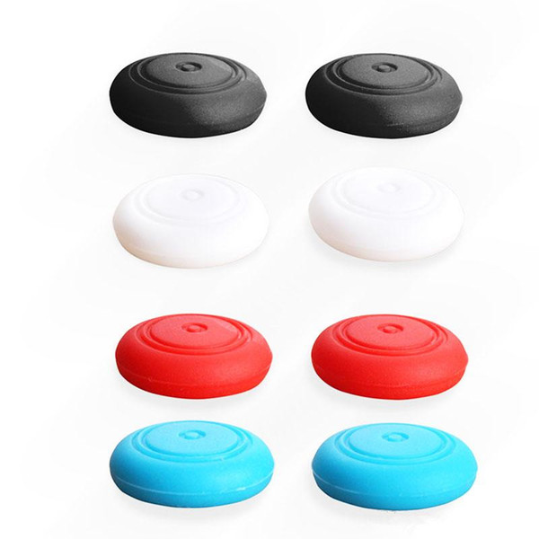 top popular Silicone Thumb Stick Caps Gel Guards for Nintendo Switch NS Joy-Con Controller Joystick Grips Game Accessories DHL Free 2020