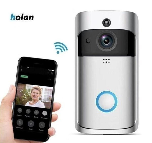 Best Home Security Systems 2020.2020 Smart Wifi Doorbell Visual Recording Low Power Consumption Remote Home Control Night Vision Video Door Phone Best Home Security Alarm Systems
