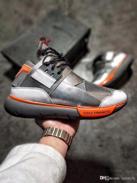 2018 New Y-3 QASA Yohji RACER wheat red Vista Grey Sneakers Breathable Men and Women Running Shoes Y3 Outdoor Suberou Trainers Free shipping