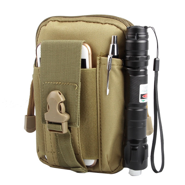 Tactical Molle Pouch Admin Pouch With Cell Phone Pack Gear Tools Organizer Military Utility Outdoor Camping Compact bag #820095