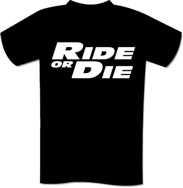 Camiseta Ride of Die! JDM WALKER TRIBUTE CARS AUTOMOTIVE FUNNY S-3XL 100% algodón Camiseta de manga corta con cuello en O Tops Camiseta T SHIRT