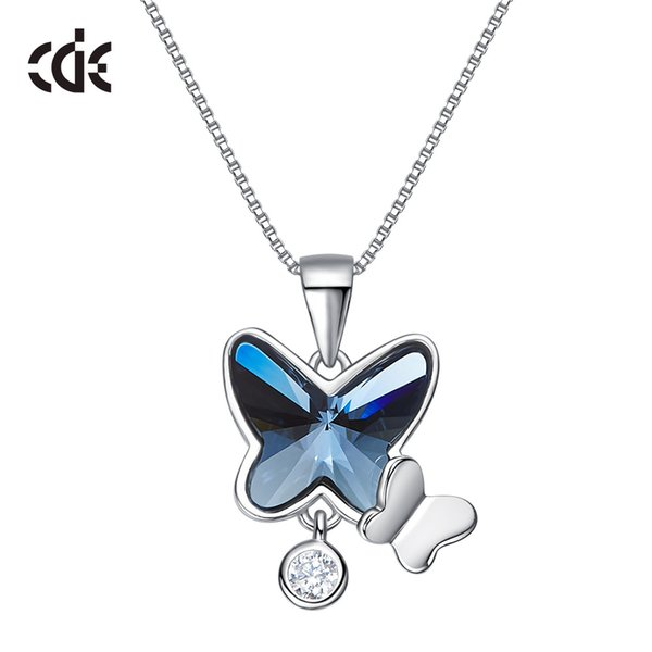 Wedding Party silver S925 beaded pearl gift woman lady diamond jewelry necklace for bride acting initiation graduation CDE-7