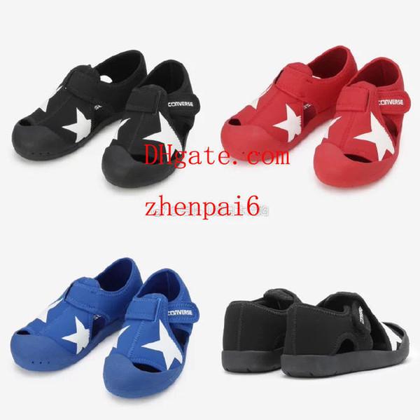 zapatos para niños Niños Sandalias con punta cerrada Niños Chicas Niños Playa de verano Zapatos antideslizantes Zapatos de malla Sandalias suaves