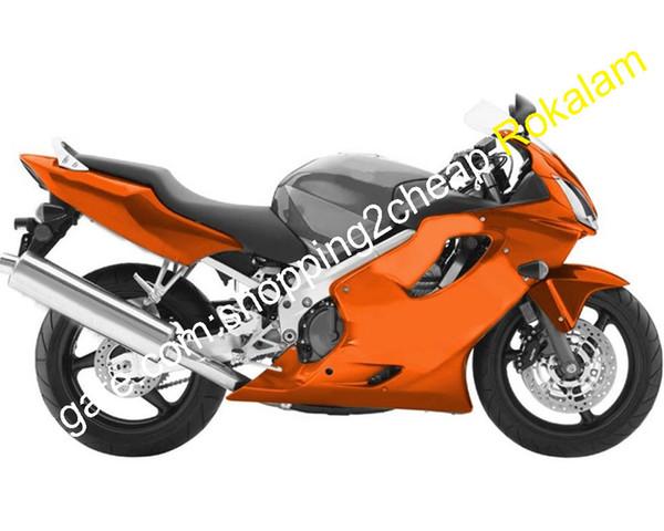 CBR600 Carénage pour Honda CBR600F4i CBR 600 F4i 600F4i 2004 2005 2006 2007 CBRF4i Pièces de carrosserie orange pour moto (moulage par injection)