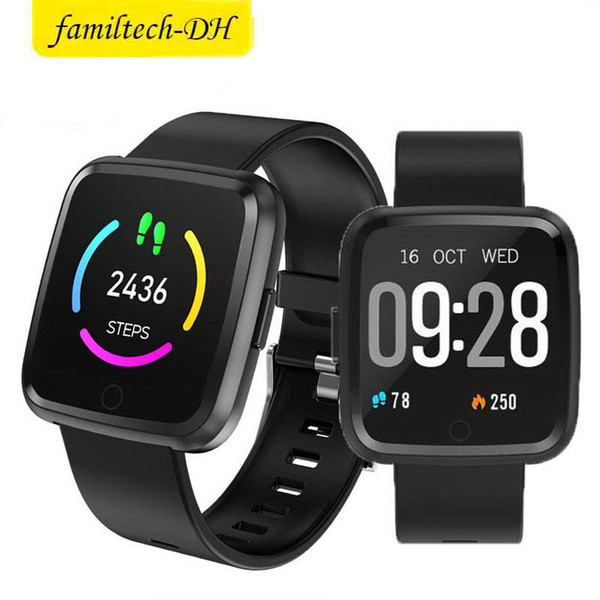 Y7 Smart Fitness Bracelet Mi band 3 ID115 Plus Blood Pressure Oxygen Sport Tracker Watch Heart Rate Monitor Wristband