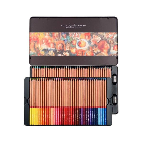 72 Farben Blechdose