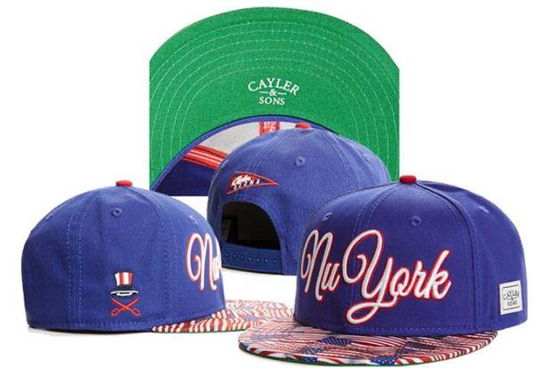 2019 оптовые шляпы cayler snapback шляпы casquette костяные спортивные кепки только York Vikings оснастка шляпа папа CaylerSon ball регулируемая крышка