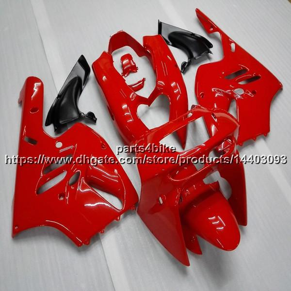 5Gifts + Custom carenado motocicleta roja para Kawasaki ZX9R 1994 1995 1996 1997 ZX-9R 94 95 96 97 ZX 9R ABS kit de plástico